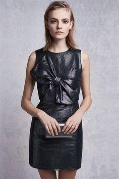 15 stylish party dresses for the holidays: Rachel Antonoff Viveza Linen Sheath Dress.