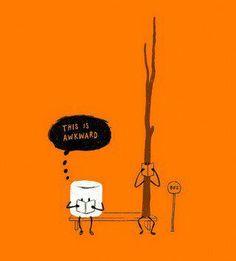 Awkward...<--- This is so cute!