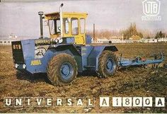 Universal (UTB) | Tractor & Construction Plant Wiki | FANDOM powered by Wikia Thing 1, Rubber Tires, Car Brands, Heavy Equipment, Fiat, Romania, Monster Trucks, Engineering, Retro