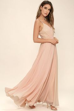 All About Love Blush Pink Maxi Dress 2