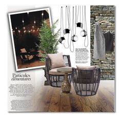 """#29 Get the look: Kylie Jenners Calabasas Garden in Los Angeles"" by hafsahshead ❤ liked on Polyvore featuring interior, interiors, interior design, home, home decor, interior decorating, Flos, Laura Ashley, Zuo and Skagerak"