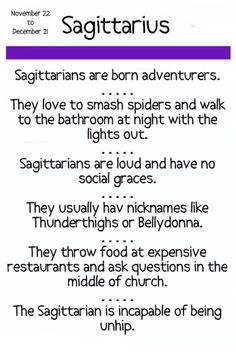 Note Card Sagittarius Horoscope by Pegalee on Etsy, $3.00