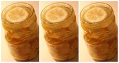 Tento citrónový zázrak radím každému, kto je chorľavý a necíti sa dobre! Czech Recipes, Russian Recipes, Korn, Pickles, Cucumber, Peanut Butter, Mason Jars, Pudding, Tableware