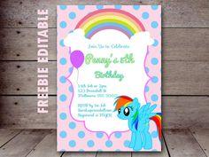 free-editable-my-little-pony-party-invitation