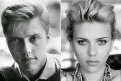 Ces étonnantes ressemblance entre stars hommes et femmes   ressemblances entre des stars homme et femme christopher walken scarlett johansson