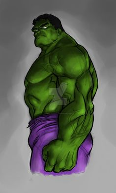 #Hulk #Fan #Art. (Hulk - colors) By: ErrolQuebral. ÅWESOMENESS!!!™ ÅÅÅ+