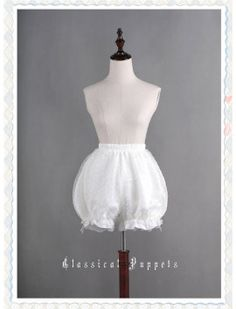 Sweet Bubble Lolita Bloomer Multiple Colors