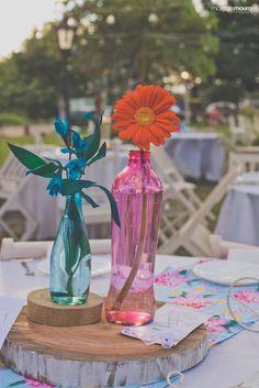 arranjo de flores mesa