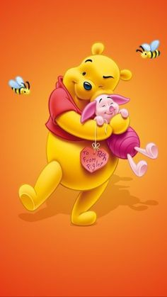 Winnie The Pooh Pictures, Winnie The Pooh Themes, Cute Winnie The Pooh, Winne The Pooh, Winnie The Pooh Friends, Mickey And Friends, Pooh Bear, Tigger, Cute Panda Drawing
