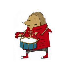 Hedgehog drummer!