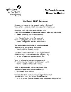 Brownie Quest Activity- GORP Ceremony.pdf - tracy vitanovich has shared a file with you - Acrobat.com