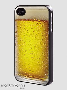 beer glass - hard case cover for iphone #fundas #móviles #originales