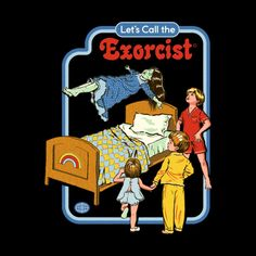Hilarious Dark Humor Retro Illustrations By Steven Rhodes pics) Bizarre Kunst, Bizarre Art, Just Kids, Satanic Art, The Exorcist, Horror Art, Wall Collage, Illustration Art, Retro Illustrations