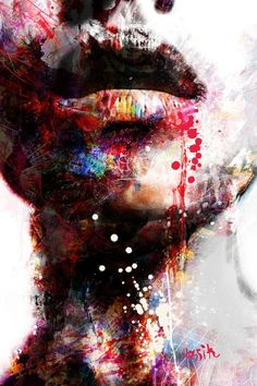 "Saatchi Art Artist yossi kotler; Painting, ""wondering (sold)"" #art"