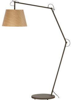 Polygon Floor Lamp - modern - floor lamps - CB2