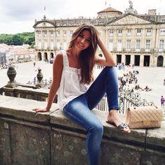 "Alexandra Pereira στο Instagram: ""Hola Santiago #lovelypepatravels #santiagodecompostela #Galicia"""