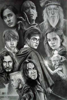It is even harder when you realize that your daughter's childhood has also come to a end, but what better way then through The world of Harry Potter. More #harrypotterwallpaper #harrypottercharacters