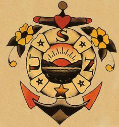 Old School Tattoos Sailor Jerry Sailor jerry tattoo flash