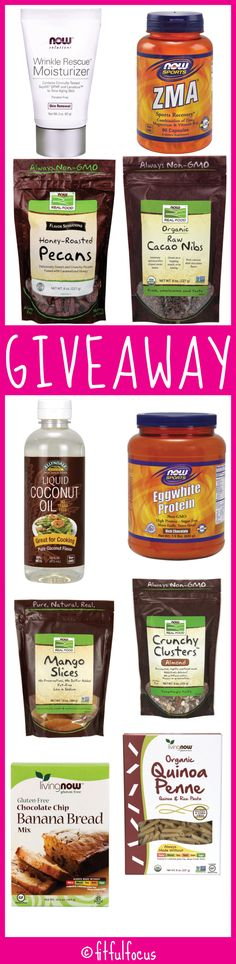 Fifth Blogiversary Giveaway | Sponsored | Now Foods | Giveaway | Healthy Living Products | Allergy Friendly Products | Gluten Free