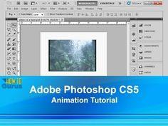 Adobe Photoshop CS5 Animation Tutorial - How to create Animation using the timeline -(FRAMING Animation/Vid)