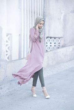 2016 Hijab Dress Fashion Inspirations http://www.ferbena.com/2016-hijab-dress-fashion-inspirations.html