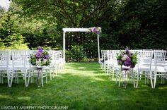 A Robinswood House Garden Wedding – Pedersen's White Chivari Chairs - Lindsay Murphy Photography