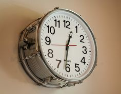 Snare drum clock! Musthave!