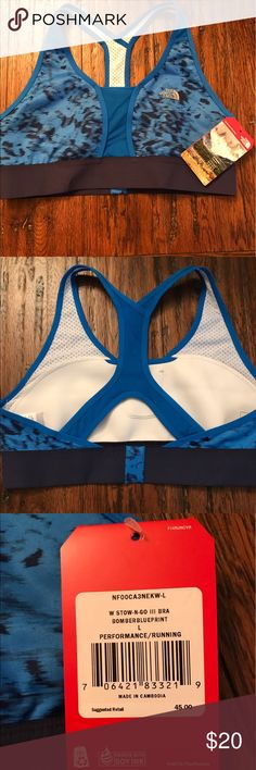 The North Face racer back sports bra NWT The North Face racer back sports bra NWT The North Face Intimates & Sleepwear Bras