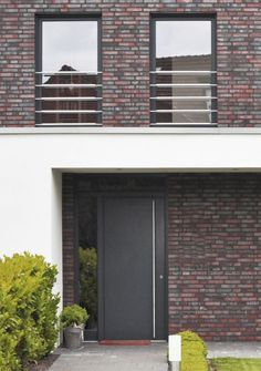 Brick Facade, Facade House, Future House, My House, Modern Entrance Door, Brickwork, Wooden House, Cladding, Curb Appeal