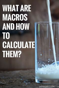 "If you are even slightly interested in fitness, you may have heard people discussing macros lately. The ""if it fits your macros"" diet is rapidly gaining popularity since it is flexible and easy to follow. Even if you do not want to lose weight, macros are a very important part of living a healthy lifestyle. 