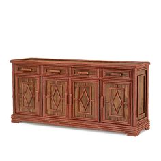 Rustic Buffet #2116 in Redwood finish by La Lune Collection
