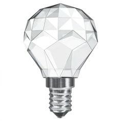 Leuci Sfera Crystal – Lampadina decorativa LED  http://www.justleds.co.za