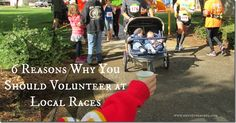 reasons why you should volunteer at races, reasons to volunteer, race volunteer