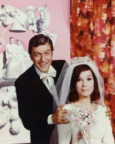 Dick Van Dyke Show - Rob and Laura - What is this photo!?  It's amazing.