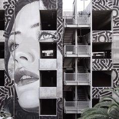 Street art by Rone   http://ineedaguide.blogspot.com/2015/05/rone.html   #art #streetart