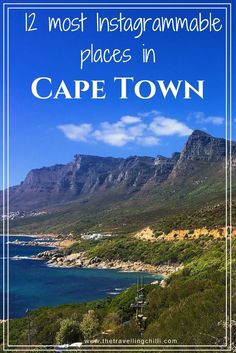 The 12 most photogenic places in Cape Town South Africa *****************************************Where to take the best photos in Cape Town South Africa | Instagram-worthy places in Cape Town | Instagrammable places in Cape Town | Instagram | South Africa | Table Mountain