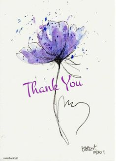 Thank You Wishes, Thank You Greetings, Thank You Quotes, Birthday Greetings, Birthday Wishes, Thank You Cards, Happy Birthday, Zentangle, Watercolor Tattoo