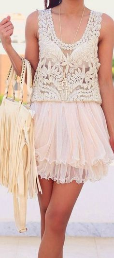 Steal The Fashion: Lace and tulle