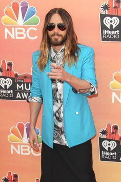 10 Times Jared Leto Looked Like a Fashion Girl in 2014 Celebrity Style Casual, Kyle Jenner, Just Jared, Solange Knowles, Chloe Grace Moretz, Style Snaps, Red Carpet Looks, Alexa Chung, Jared Leto