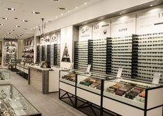 SPAREPARTS St. Vital store by Cutler, Winnipeg Canada watches eyewear store design