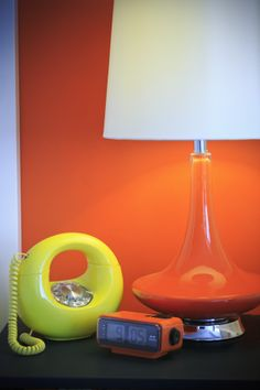 An old-school rotary dial phone completes the vintage room decor at Hotel Zed. Victoria B, Vintage Room, Old School, The Past, Table Lamp, Room Decor, Retro, Vancouver, Washington