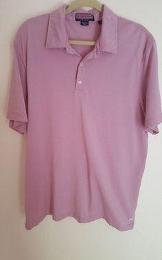 Vineyard Vines Summer Polo Shirt XL Golf Mercerized Cotton Heather #vineyardvines #PoloRugby