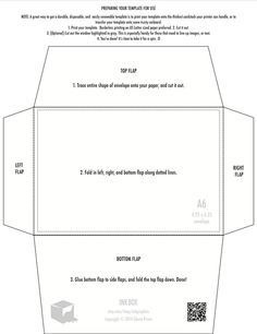 Free Printable Mini Envelope Templates and Liners | Pinterest | Free ...