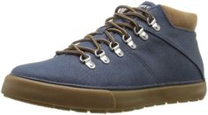 Sperry-Top-Sider-Mens-Striper-Alpine-Denim-Jean-Sneaker-Shoes-Boots-8-5-D-M-US