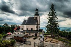 Sanktuarium Matki Bożej Przyczyny Naszej Radości na Górze Iglicznej Poland, Lower Silesia, Sudety mountains