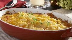 Get inspired with this authentic, flavorful Wish-Bone® recipe: Buttermilk Scalloped Potatoes