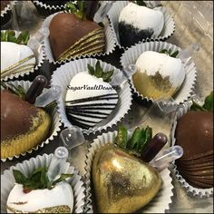 Liquor Infused Chocolate Covered Strawberries