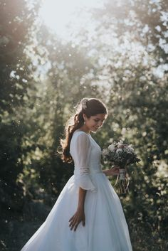 Strategy, techniques, including resource in the interest of getting the very best result and also ensuring the maximum utilization of Wedding Photoshoot 2 Piece Wedding Dress, Wedding Dress Separates, Modest Wedding Gowns, Western Wedding Dresses, Bridal Dresses, Flower Girl Dresses, Lds Bride, White Ball Gowns, Trumpet Dress