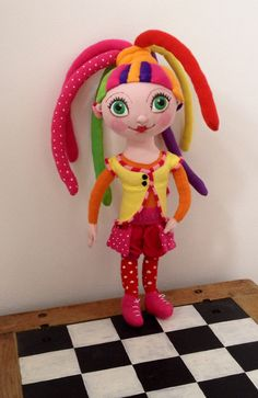Fíha Tralala by Mery❤️Jane Elf, Dolls, Christmas Ornaments, Sewing, Holiday Decor, Images, Search, Baby Dolls, Dressmaking