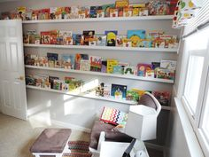 Now THIS is a library wall! #nursery